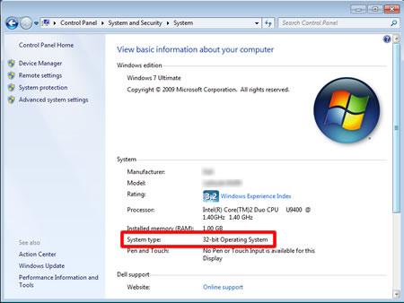 Kiểm tra hệ điều hành trên PC để tương thích driver máy in nhãn 8