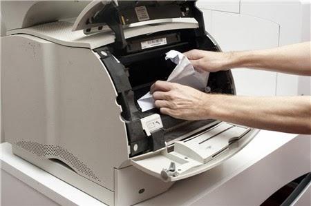 Kẹt giấy máy in