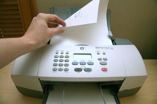 Những vấn đề thường gặp khi sử dụng máy fax 1