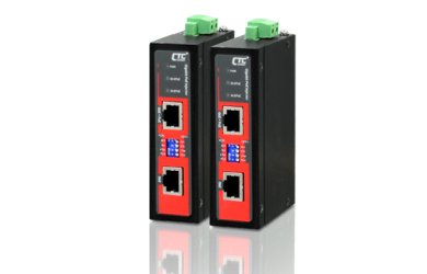 Gigabit Ethernet PoE+ Injector compact