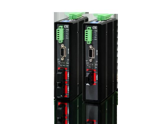 Serial RS-232-422-485 Daisy Chain Fiber Converter