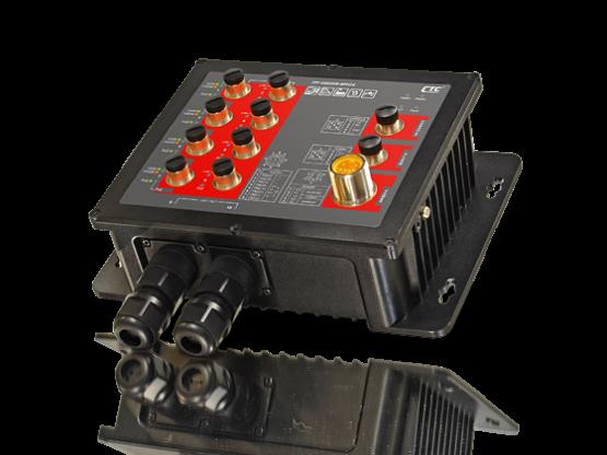Switch công nghiệp chuẩn EN 50155 8 POE, RJ45+2 SFP 1Gb